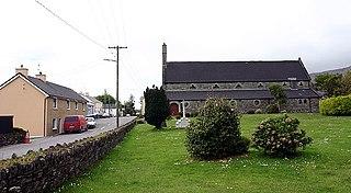 Kilcrohane Village in Munster, Ireland