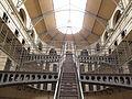 Kilmainham Gaol Prison - stairs.JPG