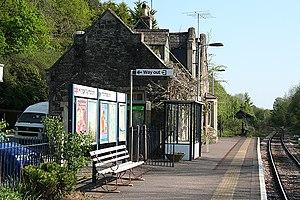 King's Nympton railway station - Image: King's Nympton railway station in 2007