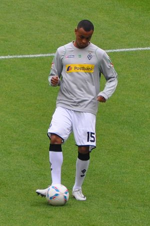 Joshua King (footballer) - King with Mönchengladbach in August 2011