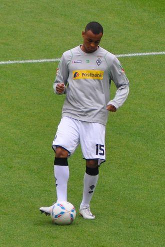 Joshua King (footballer) - King with Mönchengladbach in August 2011