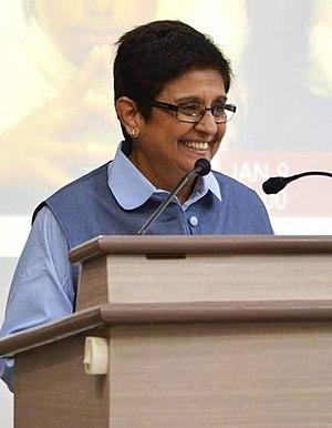 Kiran Bedi - Bedi speaking at IIT Madras, 2014