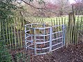 Kissing Gate near Harden Cottage - geograph.org.uk - 1692379.jpg