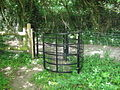 Kissing Gate on North Downs Way - geograph.org.uk - 1301413.jpg