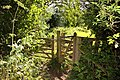 Kissing gate to Chilswell Farm - geograph.org.uk - 1423212.jpg