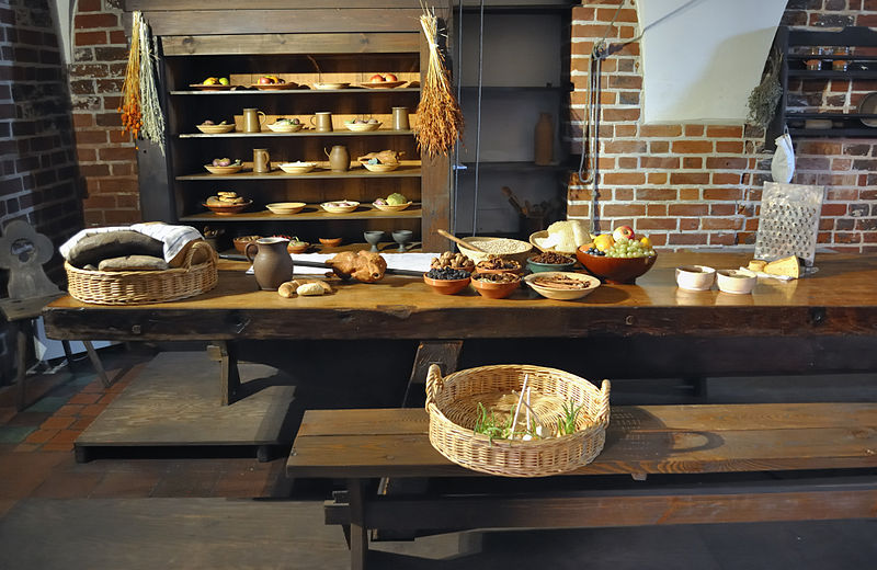 File:Kitchen of Malbork Castle.jpg