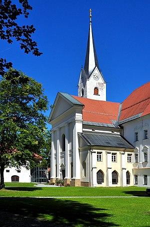 Viktring Abbey - Abbey church