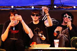 Klaxons English band based in London