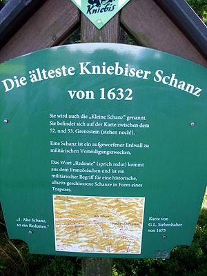 Kniebis - Site of the old Kleine Schanze at the Kniebis