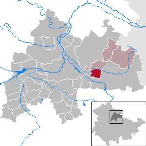Kleinneuhausen - Image: Kleinneuhausen in SÖM