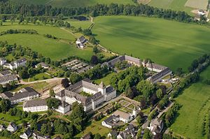 Grafschaft Abbey - Aerial photograph of Kloster Grafschaft
