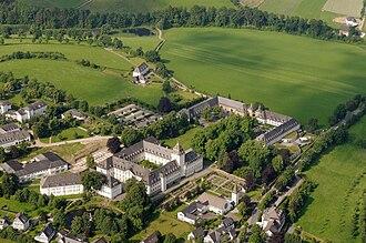 Grafschaft Abbey - Aerial photograph of Kloster Grafschaft