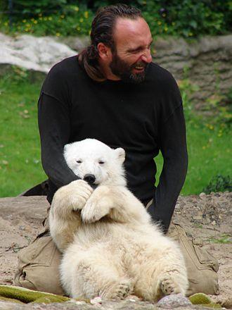Berlin Zoological Garden - Image: Knut 011