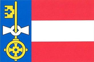 Kočov - Image: Kočov flag
