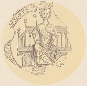 Magnus VI of Norway - Image: Kong Magnus Haakonsson PI VI 1