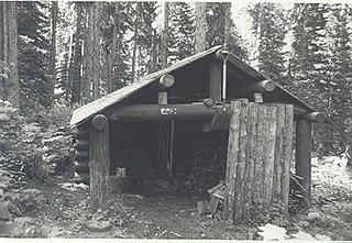 Kootenai Creek Snowshoe Cabin United States historic place