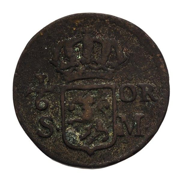 File:Kopparmynt från 1718 - Skoklosters slott - 109265.tif