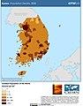 Korea Population Density, 2000 (5457622254).jpg
