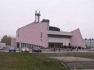 Knurów - Contemporary church