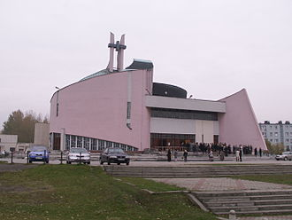 Knurów - Contemporary church