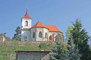 Sadská - St. Apolinaire church