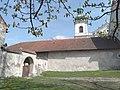 Kraków Bielany klasztor mury przy furcie.jpg