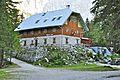 Kranjska Gora Mojstrana Vrata Aljažev dom 2011-08-26 722.jpg