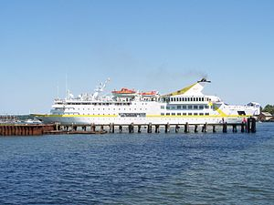 Kreuzfahrtschiff VISTAMAR in Stralsund
