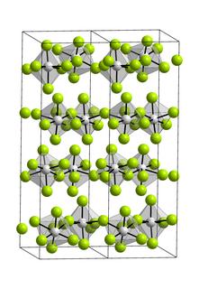 Vanadium pentafluoride chemical compound