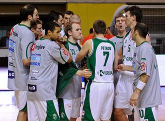 KK Krka - Krka team in 2012