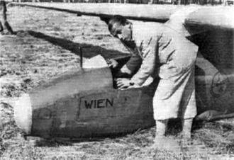 Lippisch Wien - Robert Kronfeld with the Wien in 1931