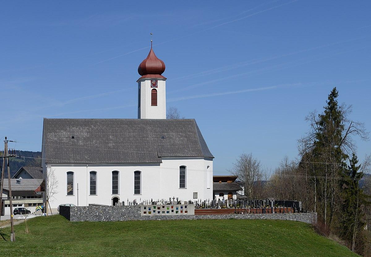 Pfarrkirche Krumbach (Vorarlberg) – Wikipedia
