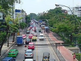 Pom Prap Sattru Phai District - Krung Kasem Road in the area of Bobae Market