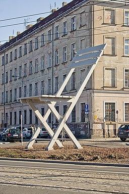 Krzesło ul. Rzeźnicza