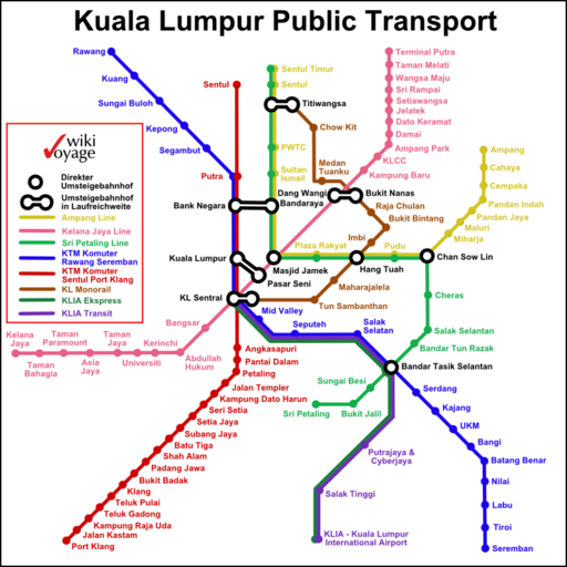 Kuala Lumpur Public Transport