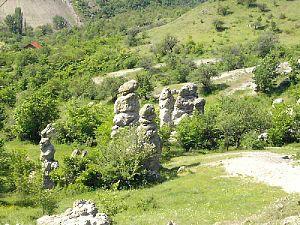 Stone town of Kuklica - Stone pillars