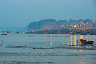 Gathering or a fair held every 12 years at Allahabad (Prayagraj) in India