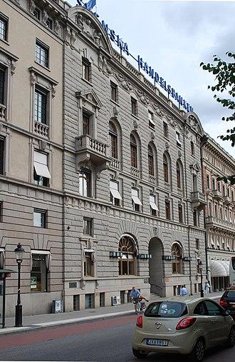 Handelsbanken - Handelsbanken Stockholm Headquarters.