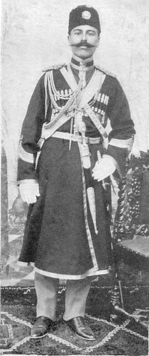 Hamidiye (cavalry) - Image: Kurdish Hamidiye officer