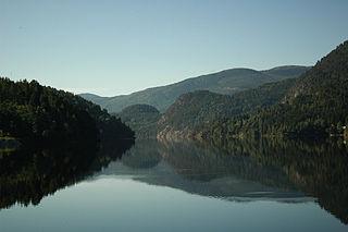 Kviteseid Municipality in Vestfold og Telemark, Norway