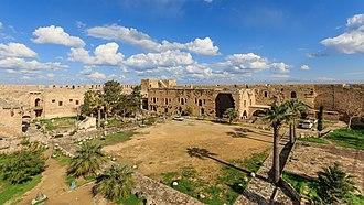 Kyrenia Castle - Kyrenia Castle's courtyard