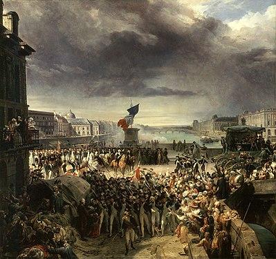 Léon Cogniet - La Garde nationale de Paris.jpg