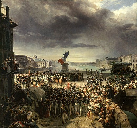 painterly pleasant french revolution - HD1400×1314