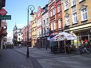 Ulica Staromiejska w Lęborku