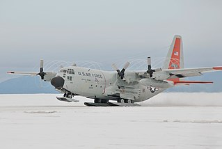 Lockheed LC-130 Antarctic transport aircraft, ski-equipped series of C-130 Hercules