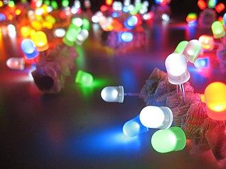 LED art - LED throwies
