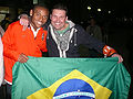 LUIZ ADRIANO with Shakhtar fan (UEFA Cup 2008-09 Semifinal in Donetsk).jpg