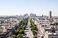 La Défense from the Arc de Triomphe, Paris 20 August 2013 001.jpg