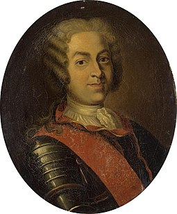 Roland-Michel Barrin de La Galissoniere, the Governor of New France sent an expedition in 1749 into the Ohio Country in an attempt to assert French sovereignty. La Galissoniere-French school 18th century img 3172.jpg