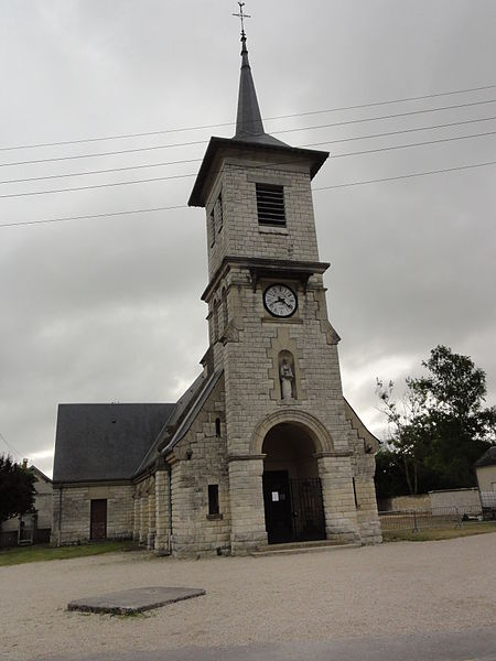 La Malmaison (Aisne) église